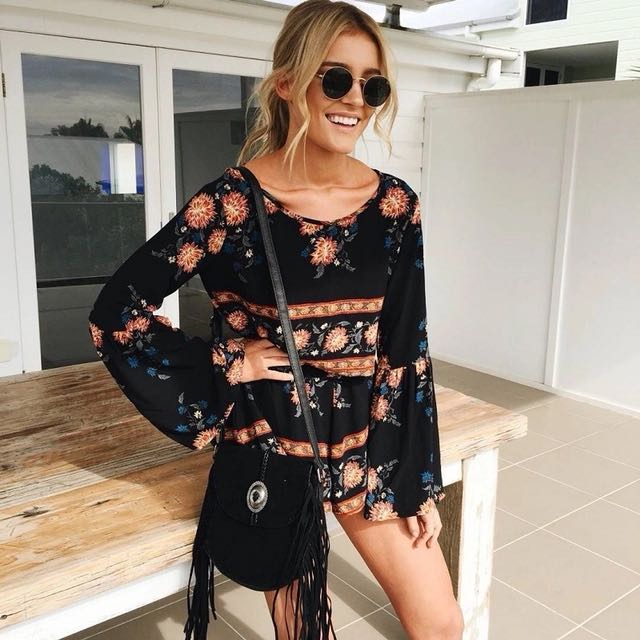 Floral Shorts and top set
