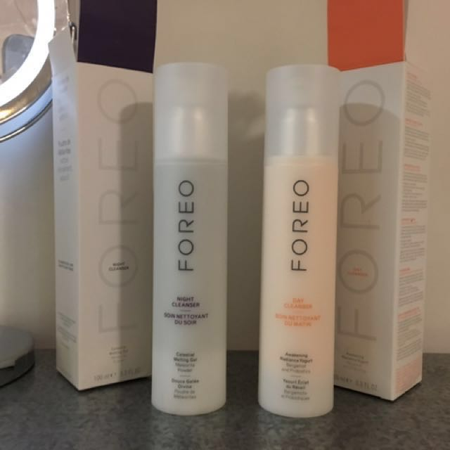 Foreo Day And Night Cleansers