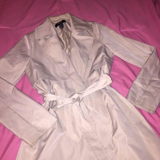 Forever21 longline coat