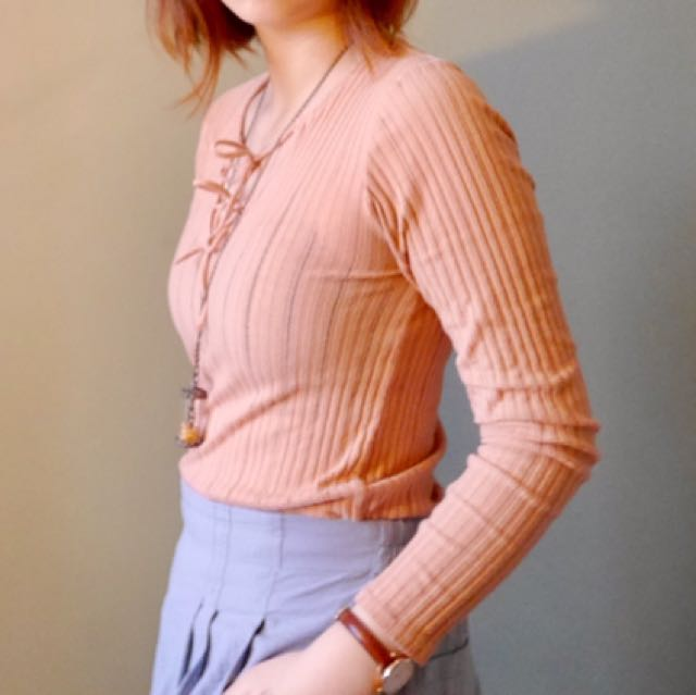 Forever 21 pink top