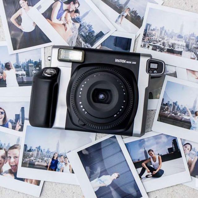 Fujifilm instax 300 Wide Polaroid camera