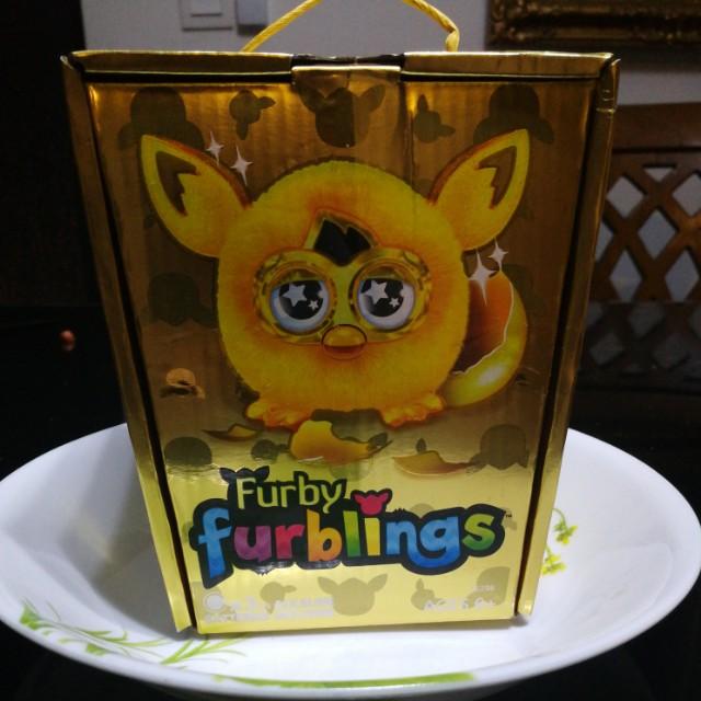 Furby golden furblings