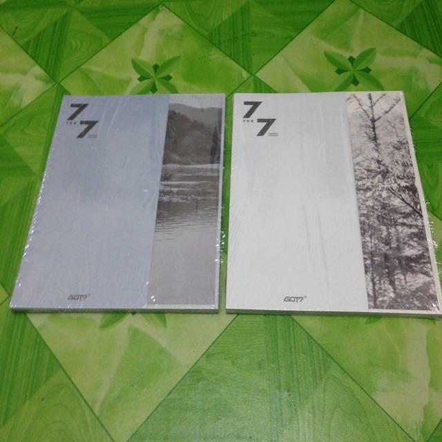 GOT7 7 FOR 7 PRESENT EDITION ALBUM