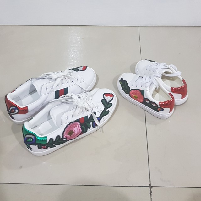 Gucci shoes mirror