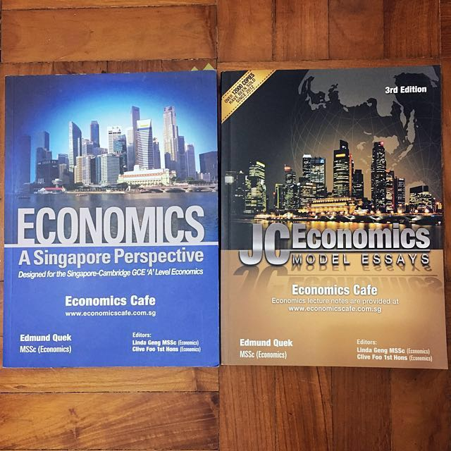 H1/H2 Economics Guidebooks (singapore perspective & model essays)