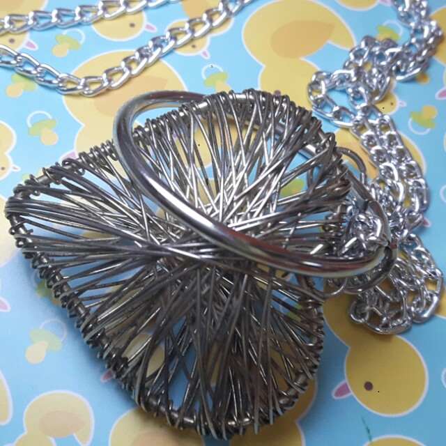 Heart Long Necklace