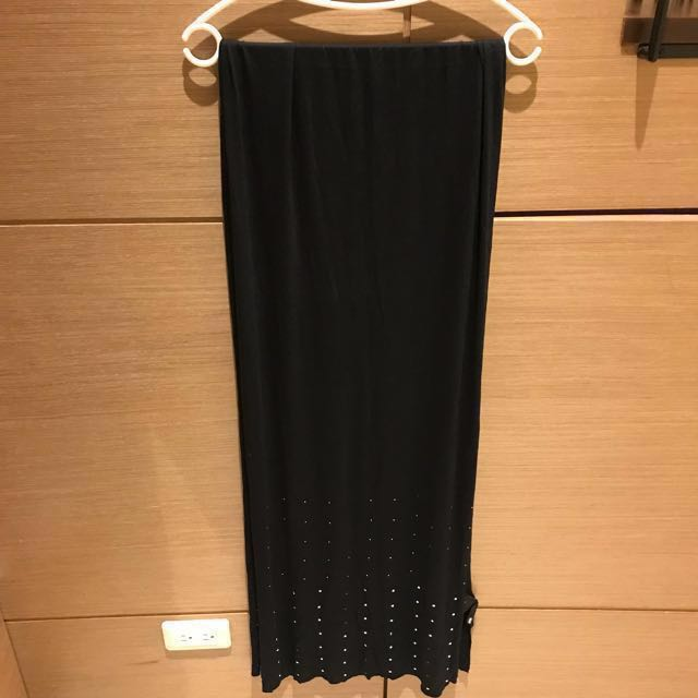 全新💯H&M黑色卯丁披肩圍巾
