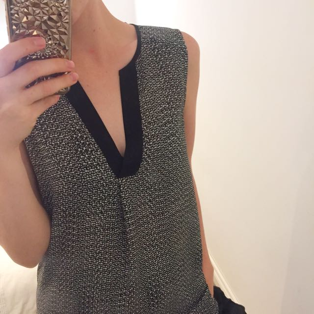 H&M long blouse