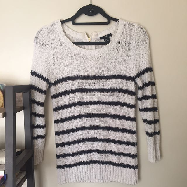 H&M Stripe Sweater