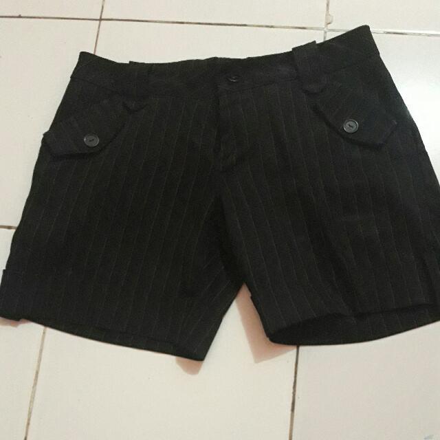 sale!!hot pants stripe dari harga 30rb
