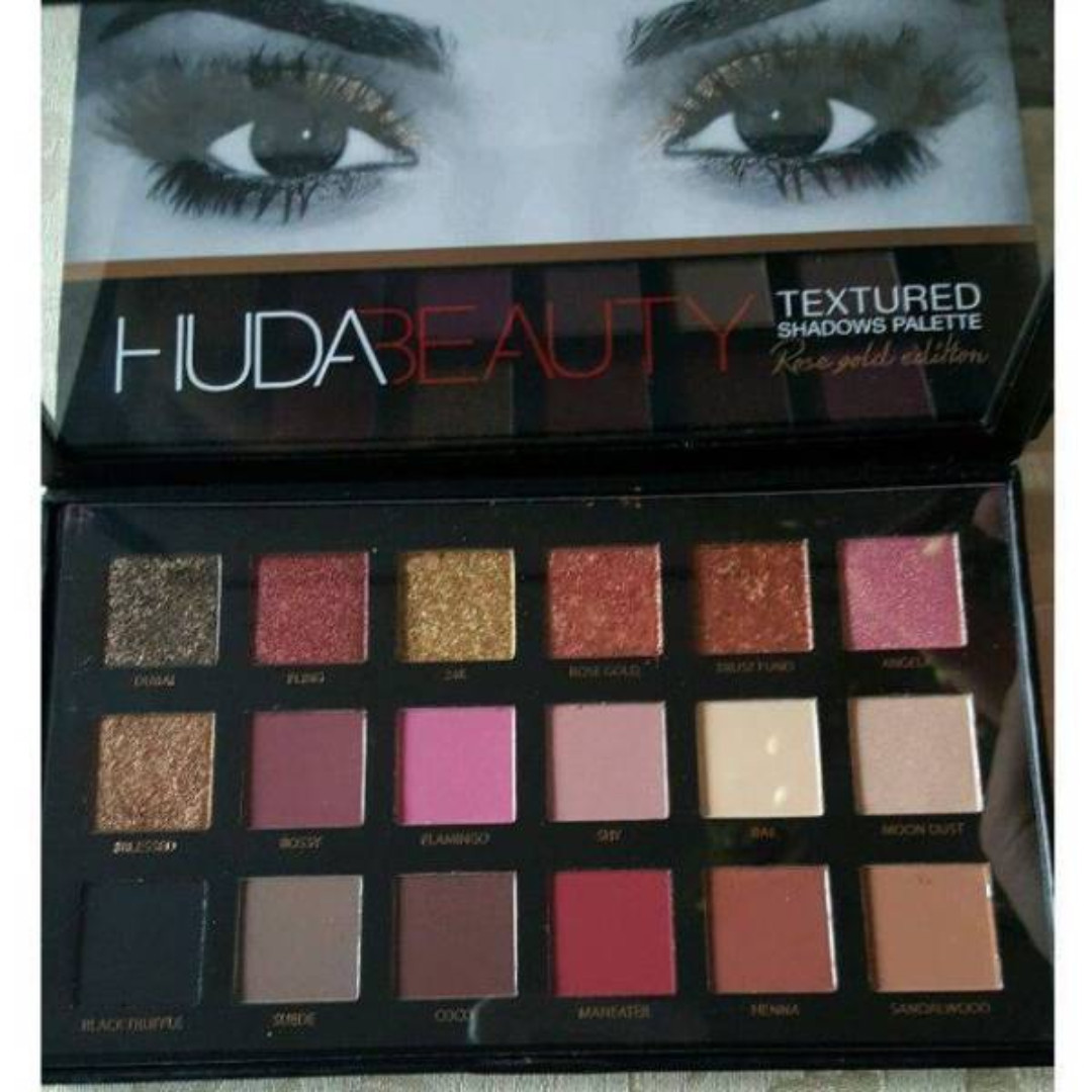 Huda Beauty Rose Gold Edition Eyeshadow Palette NEW + Authentic (WILL BE DISCONTINUED)