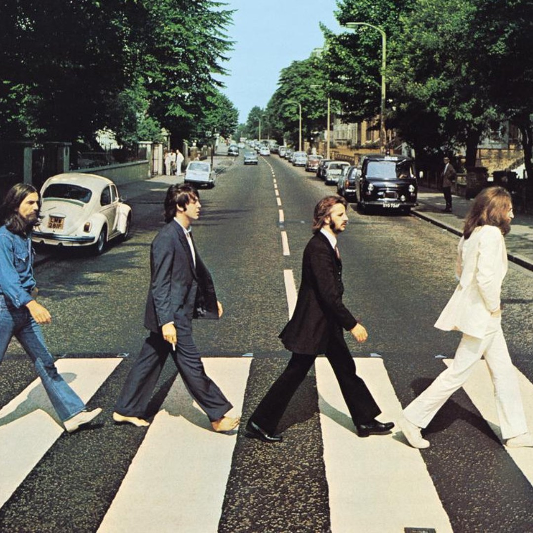 ICONIC ABBEY ROAD BEATLES POSTER