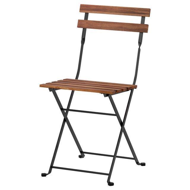IKEA Outdoor Folding Chair w/ seat cushion