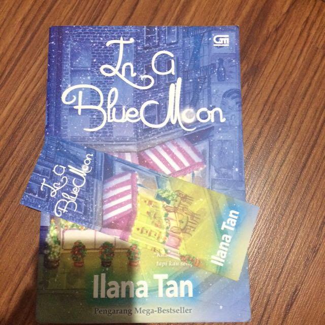 In a Blue Moon karya Ilana Tan