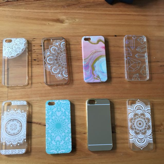 iPhone 5/5S/SE cases $2 each