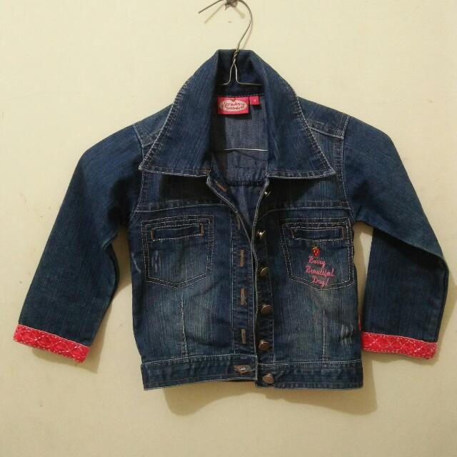 Jaket Jeans Strawberry Shortcake