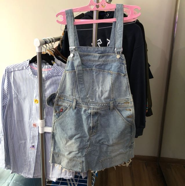 Jeans Skirt Coverall