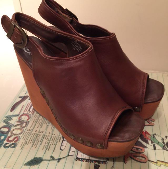 Jeffrey Campbell 木頭跟鞋