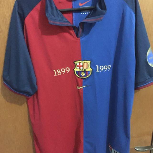 ca635ba28cc Jersey Barcelona Home Centenary 1899 - 1999
