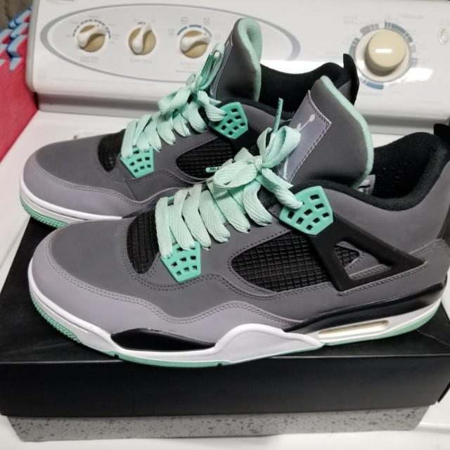 Jordan 4 Green Glow size 12