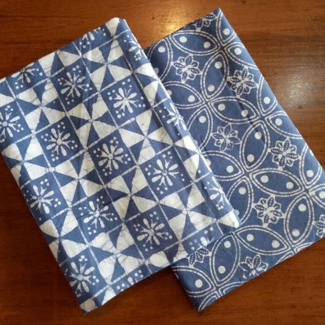 Kain batik cap wedelan