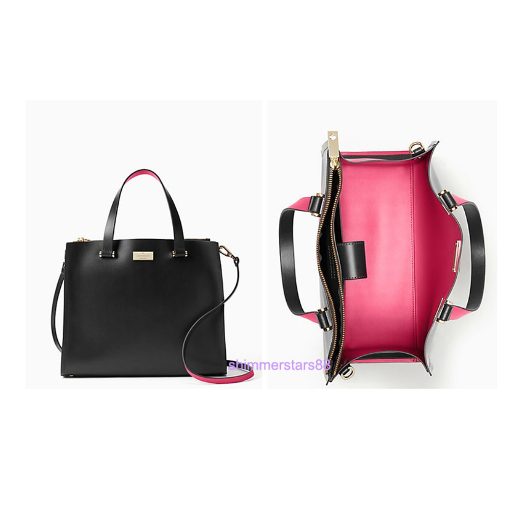 Authentic Kate Spade Arbour Hill Kyra Leather Tote Satchel Handbag RRP USD$379 Brand new with tag