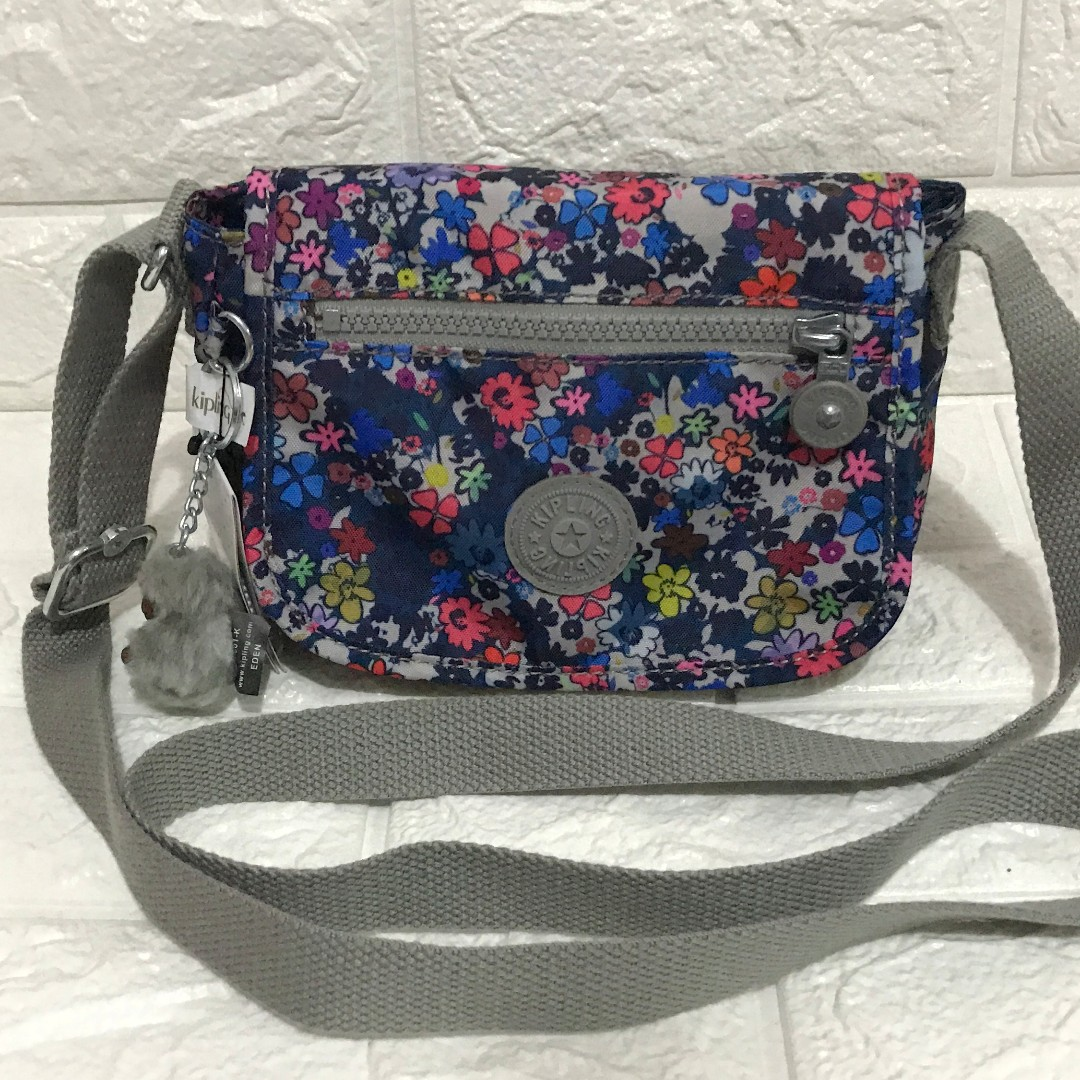 Kipling Sabian Floral Crossbody Sling from USA with tags