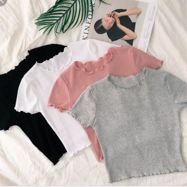 Knitted Crop Top (PO)