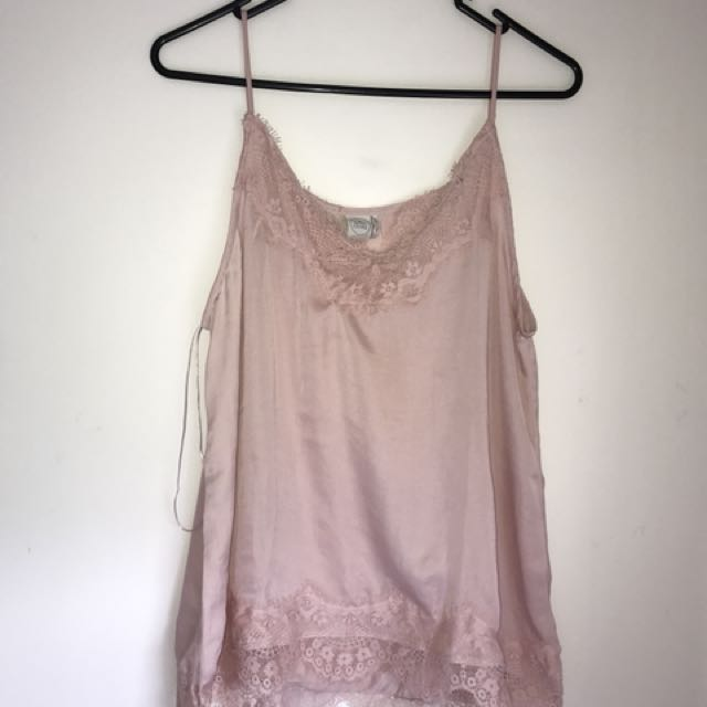 Lace cami singlet top