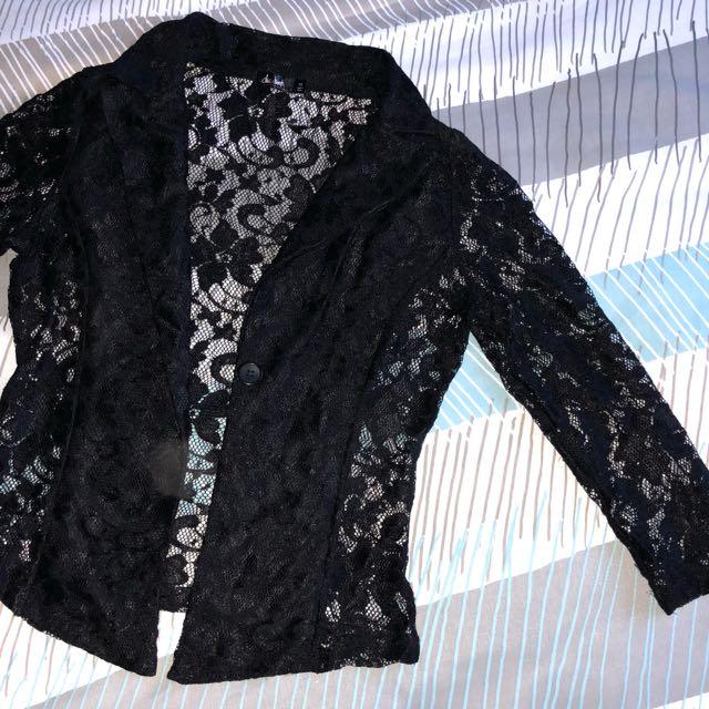 Lace jacket size 10