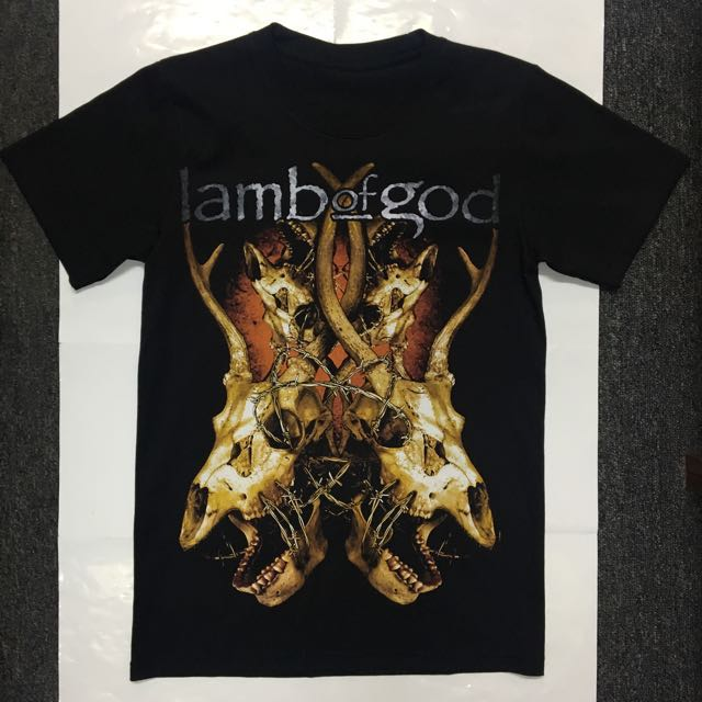 92ffe35afcd Lamb of God - Goat Head Design T-shirt Band Merch (Small Only)
