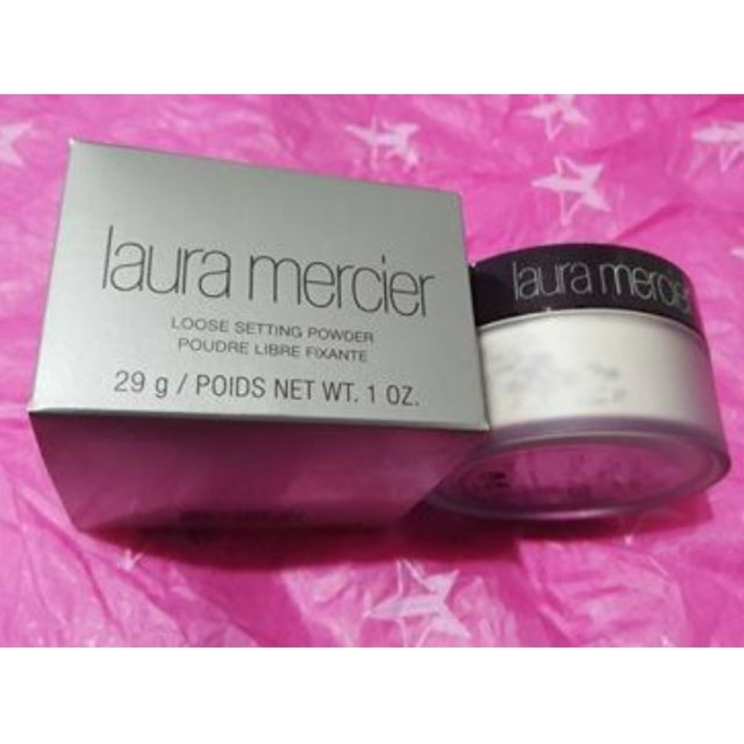 Laura Mercier Loose Setting Powder 29g Translucent BEST SELLER NEW + AUTH [NO SWAPS]