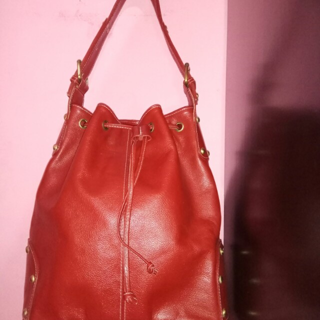 leather bag(reprice from 350rb)