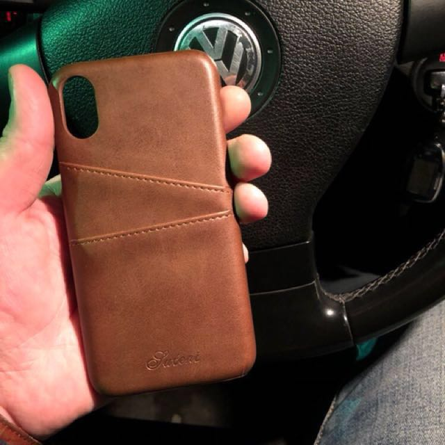 Leather Case Card Slot Casing Kulit Iphone 6 6S 6+ 7 7+ 8 8+