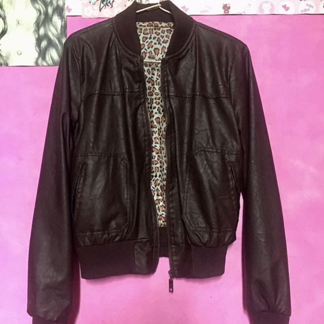 Leather Jacket (jaket Kulit)