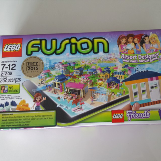 Lego Fusion Resort Designer Toys Games Others On Carousell