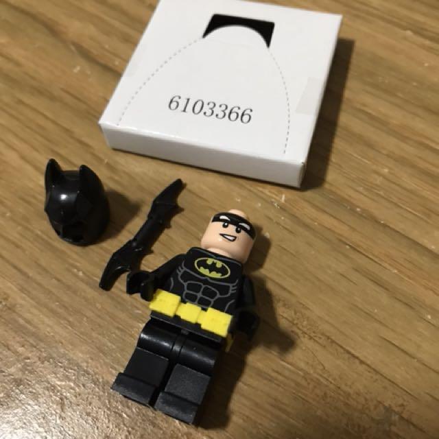 BRAND NEW FROM 70904 LEGO THE BATMAN MOVIE BATMAN MINIFIGURE