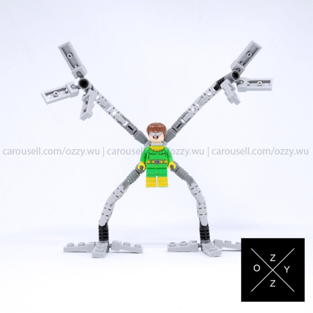 Lego Compatible Marvel Superheroes Minifigure - Dr Octopus