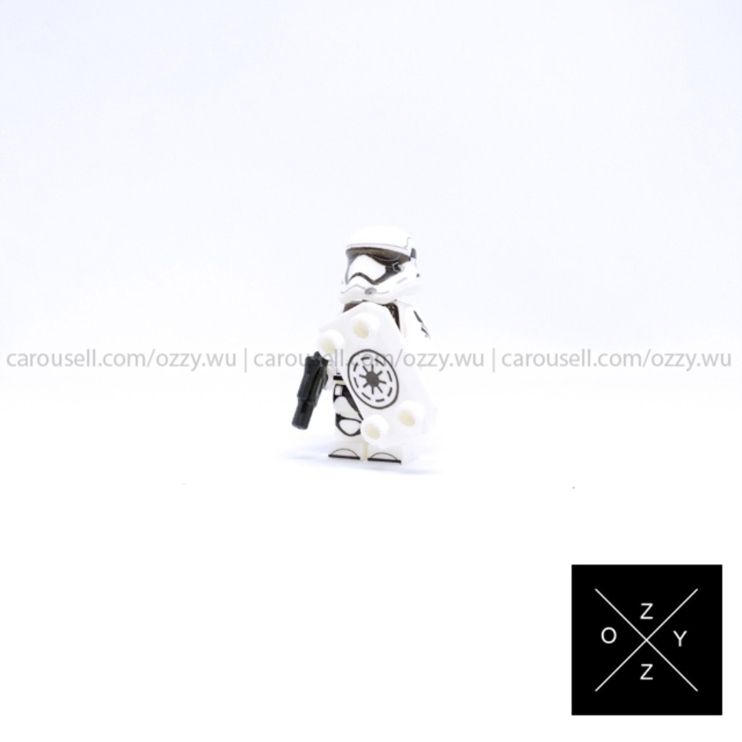 Lego Compatible Star Wars Minifigure - First Order Stormtrooper