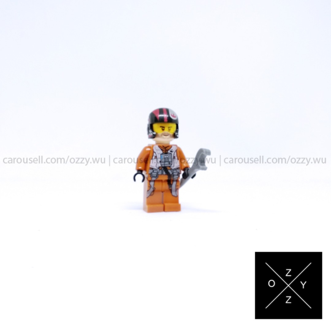 Lego Compatible Star Wars Minifigure - Poe Dameron