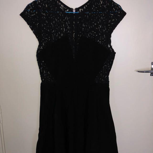 Little black dress size 12