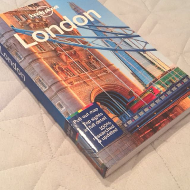 Lonely planet London book