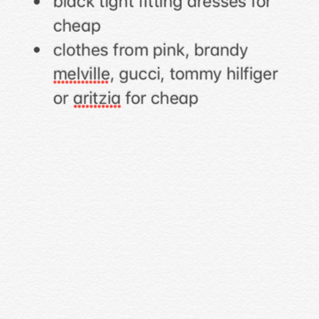 Looking for Items listed in image