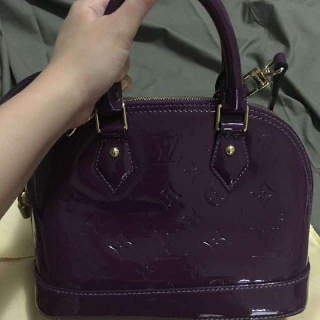 LV Vernis in Amethyst- Authentic Grade Only