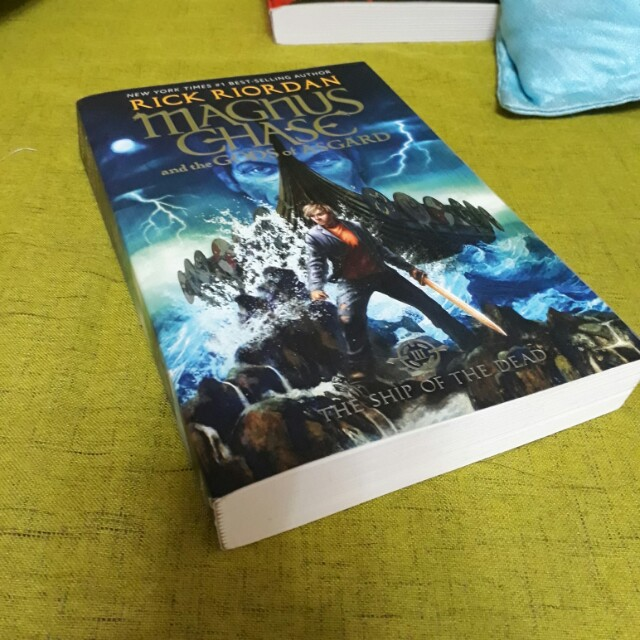 Magnus Chase: The Ship of The Dead