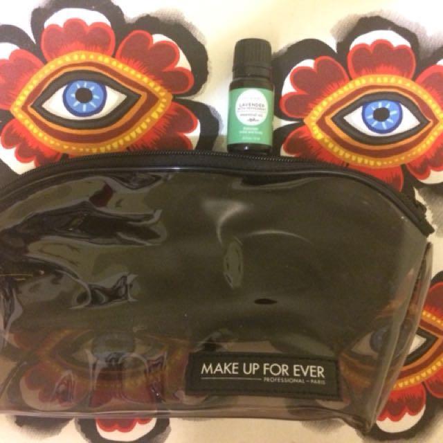 Makeup forever makeup bag