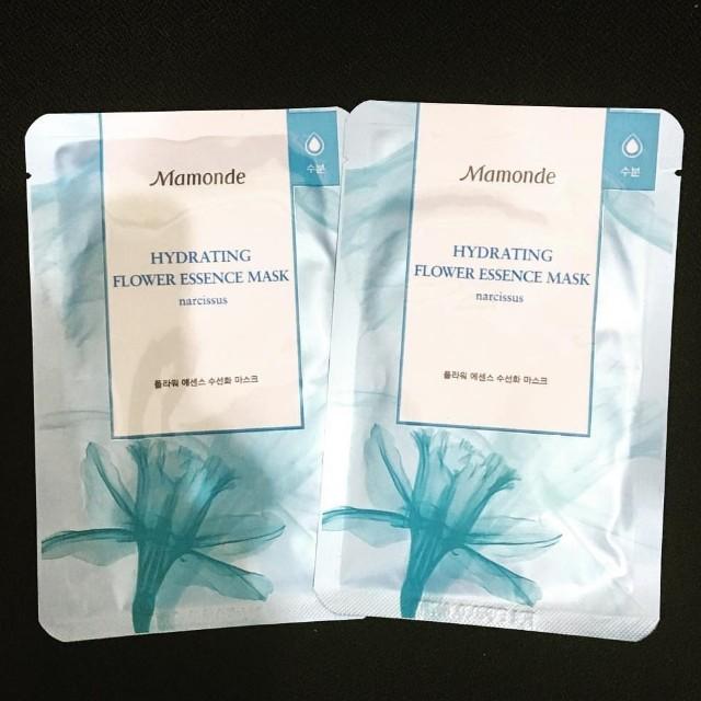 Mamonde hydrating flower essence mask