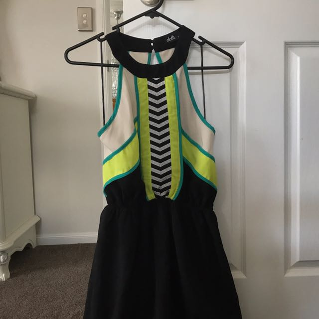 Maxi dress with side slits size 6