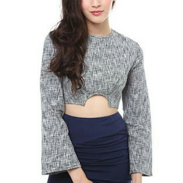 MDS COLBY TOP IN GREY