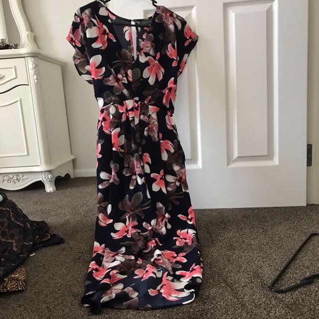 MIDI mirrou dress size 8